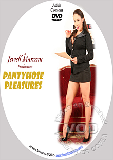 Pantyhose Pleasures Box Cover