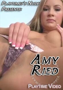Playtime's Nudes Presents: Amy Ried Box Cover