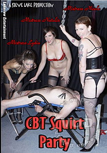 CBT Squirt Party Box Cover