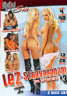 Lez-Stravaganza! #3 Box Cover