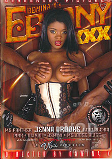 Ebony XXX Box Cover