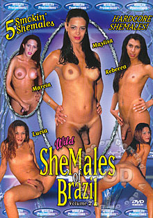 Wild SheMales Of Brazil Volume 2 Box Cover