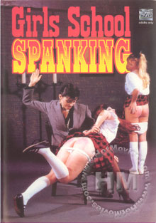Girls School Spanking Box Cover