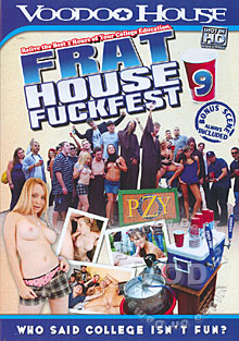 Frat House Fuckfest 9 Box Cover