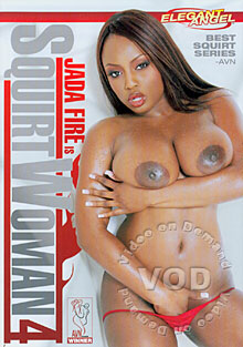 Jada Fire Is SquirtWoman 4 Box Cover