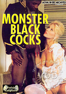 Monster Black Cocks Box Cover