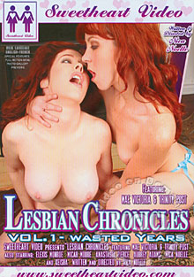 Lesbian Chronicles Volume 1 - Wasted Years Box Cover