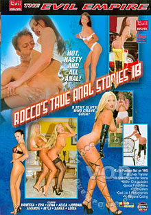 Rocco's True Anal Stories 18 Box Cover