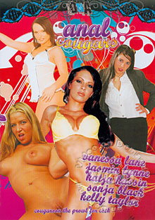 Anal Cougars Box Cover