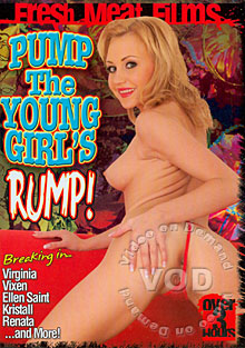 Pump The Young Girl's Rump! Box Cover