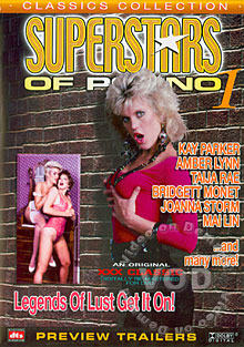 Superstars Of Porno 1 Box Cover