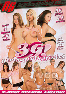 3G! Girls, Girls, Girls (Disc 2) Box Cover