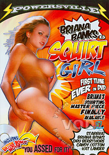 Briana Banks Is Squirt Girl Box Cover
