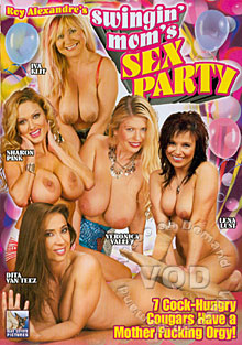 Swingin' Moms Sex Party Box Cover