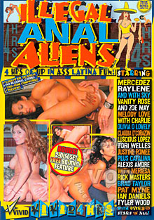 Illegal Anal Aliens Box Cover