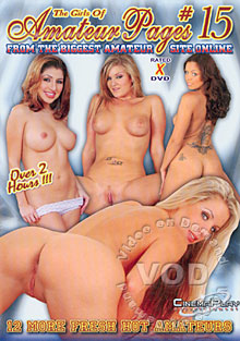 The Girls Of Amateur Pages #15 Box Cover