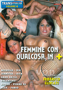 Transitalia 6 - Femmine Con Qualcosa In Piu Box Cover