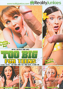 Too Big For Teens Box Cover