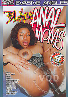 Black Anal Moms Box Cover