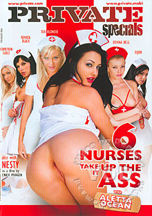6 Nurses Take It Up The Ass Box Cover