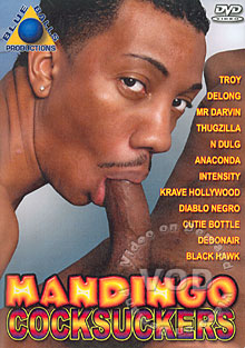 Mandingo Cocksuckers Box Cover