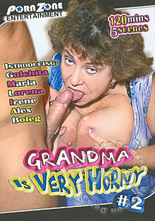 Grandma Is Very Horny #2 Box Cover