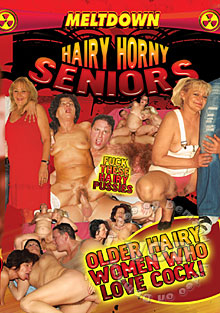Hairy Horny Seniors Box Cover