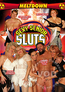 Sexy Senior Sluts Box Cover