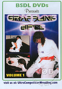 BSDL - GG1: Grappling Girls Volume 1 - Disc Two Box Cover