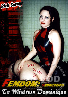 Femdom - Submission To Mistress Dominique Box Cover