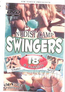 Nudist Camp Swingers 18 & Naked Box Cover