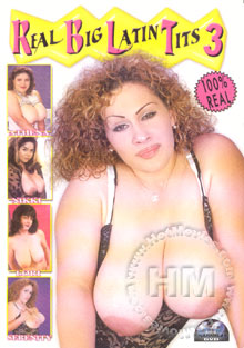 Real Big Latin Tits #3 Box Cover