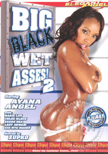 Big Black Wet Asses! 2 Box Cover