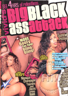 Big Black Ass Attack Box Cover