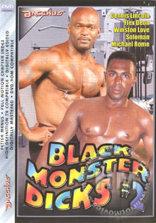 Black Monster Dicks #2 Box Cover