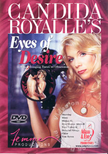 Candida Royalle's Eyes Of Desire Box Cover