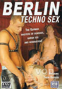 Berlin Techno Sex Box Cover