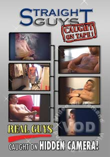 Straight Guys Caught On Tape! Box Cover