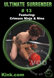 Ultimate Surrender #13 Featuring Crimson Ninja & Nina Box Cover