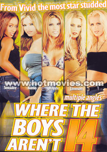 Where the Boys Aren't 14 Box Cover