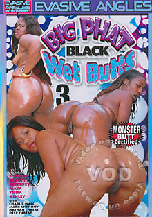 Big Phat Black Wet Butts 3 Box Cover