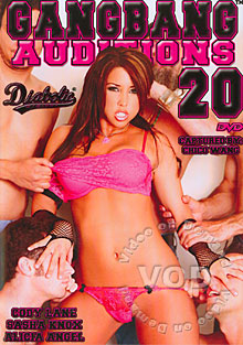 Gangbang Auditions #20 Box Cover