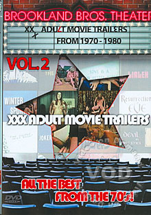 XXX Adult Movie Trailers From 1970 - 1980 Vol. 2 Box Cover