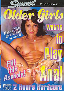 Older Girls Want To Play Anal Box Cover