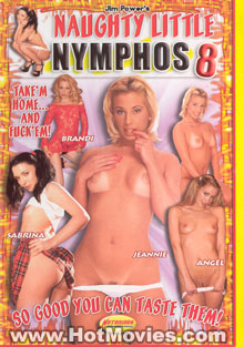 Naughty Little Nymphos 8 Box Cover