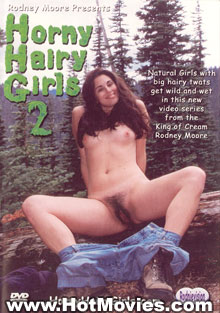 Horny Hairy Girls 2 Box Cover