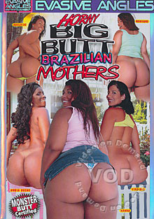 Horny Big Butt Brazilian Mothers Box Cover