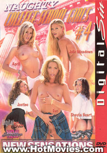 Naughty College School Girls #3 Box Cover