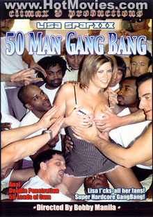 50 Man Gang Bang Box Cover