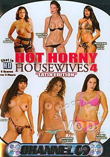 Hot Horny Housewives 4 - Latin Edition Box Cover
